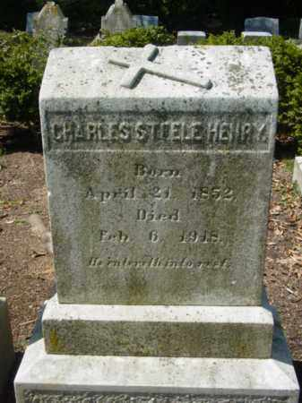 HENRY, CHARLES STEELE - Talbot County, Maryland   CHARLES STEELE HENRY - Maryland Gravestone Photos