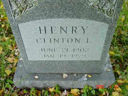 HENRY, CLINTON I. - Talbot County, Maryland | CLINTON I. HENRY - Maryland Gravestone Photos