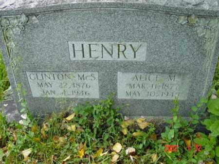 HENRY, CLINTON MCS. - Talbot County, Maryland | CLINTON MCS. HENRY - Maryland Gravestone Photos