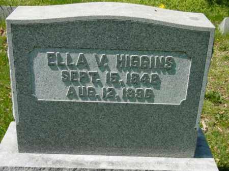 HIGGINS, ELLA V. - Talbot County, Maryland | ELLA V. HIGGINS - Maryland Gravestone Photos