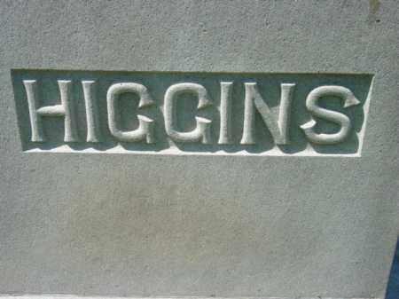 HIGGINS, MOUNMENT - Talbot County, Maryland   MOUNMENT HIGGINS - Maryland Gravestone Photos