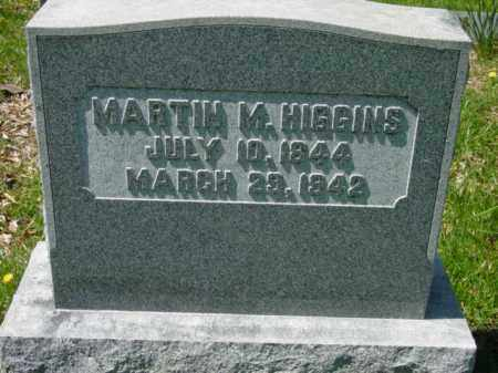 HIGGINS, MARTIN M. - Talbot County, Maryland | MARTIN M. HIGGINS - Maryland Gravestone Photos