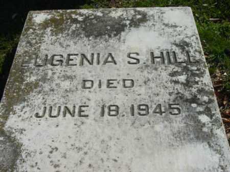 HILL, EUGENIA S. - Talbot County, Maryland | EUGENIA S. HILL - Maryland Gravestone Photos
