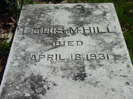 HILL, LOUIS M. - Talbot County, Maryland | LOUIS M. HILL - Maryland Gravestone Photos