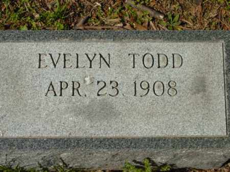 HOLDEN, EVELYN - Talbot County, Maryland | EVELYN HOLDEN - Maryland Gravestone Photos