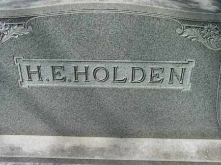 HOLDEN, H. E. - Talbot County, Maryland | H. E. HOLDEN - Maryland Gravestone Photos