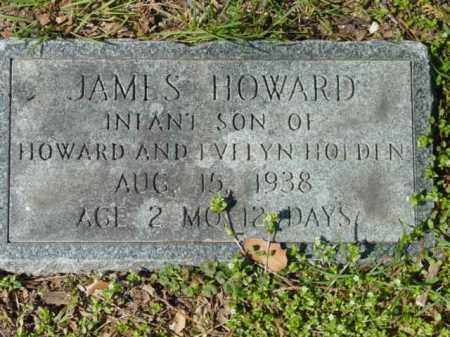 HOLDEN, JAMES HOWARD - Talbot County, Maryland   JAMES HOWARD HOLDEN - Maryland Gravestone Photos