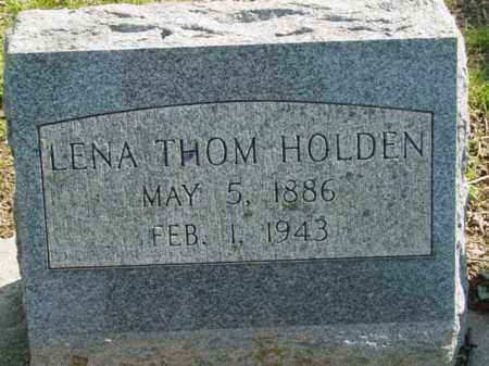 THOM HOLDEN, LENA - Talbot County, Maryland   LENA THOM HOLDEN - Maryland Gravestone Photos