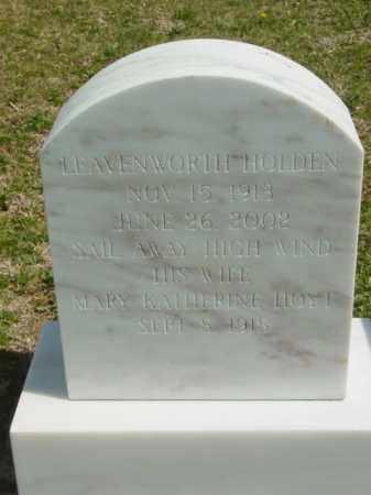 HOLDEN, MARY KATHERINE - Talbot County, Maryland | MARY KATHERINE HOLDEN - Maryland Gravestone Photos