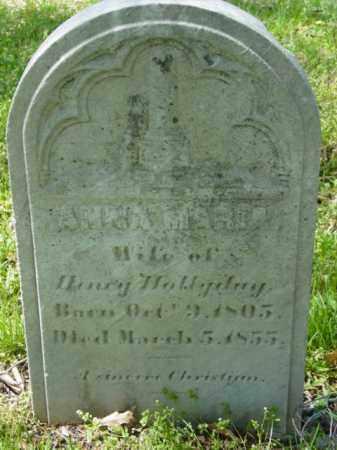 HOLLYDAY, ANNA MARIE - Talbot County, Maryland | ANNA MARIE HOLLYDAY - Maryland Gravestone Photos