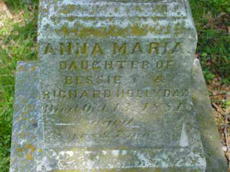 HOLLYDAY, ANNA MARIA - Talbot County, Maryland   ANNA MARIA HOLLYDAY - Maryland Gravestone Photos