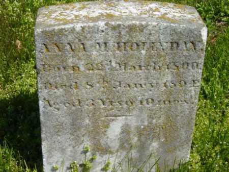 HOLLYDAY, ANN M. - Talbot County, Maryland   ANN M. HOLLYDAY - Maryland Gravestone Photos