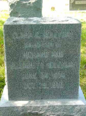 HOLLYDAY, CLARA G. - Talbot County, Maryland | CLARA G. HOLLYDAY - Maryland Gravestone Photos