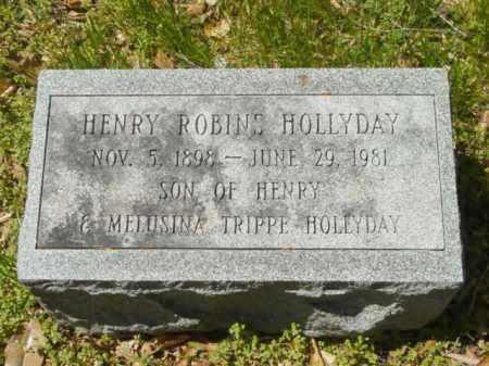 HOLLYDAY, HENRY ROBINS - Talbot County, Maryland | HENRY ROBINS HOLLYDAY - Maryland Gravestone Photos