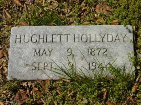 HOLLYDAY, HUGHLETT - Talbot County, Maryland   HUGHLETT HOLLYDAY - Maryland Gravestone Photos