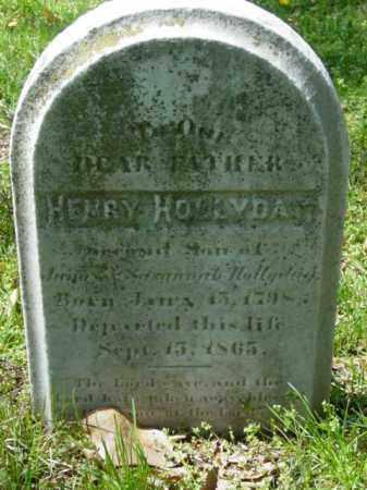 HOLLYDAY, HENRY - Talbot County, Maryland | HENRY HOLLYDAY - Maryland Gravestone Photos