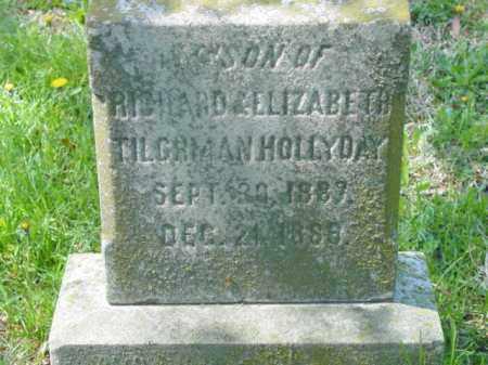 HOLLYDAY, INFANT SON - Talbot County, Maryland | INFANT SON HOLLYDAY - Maryland Gravestone Photos