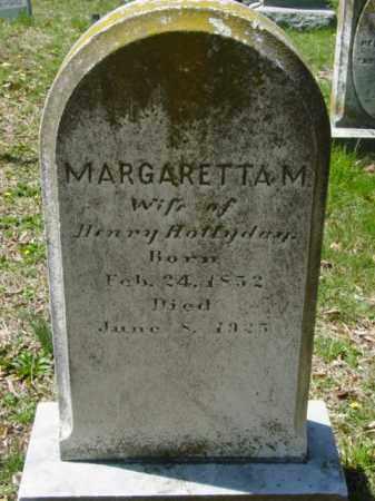 HOLLYDAY, MARGARETTA M. - Talbot County, Maryland | MARGARETTA M. HOLLYDAY - Maryland Gravestone Photos