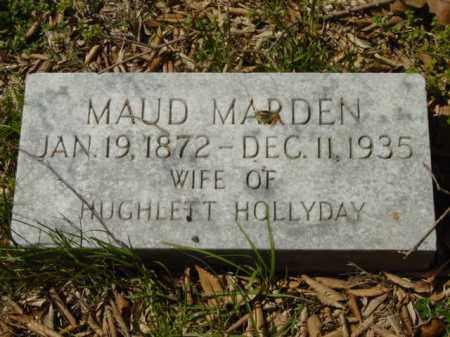 HOLLYDAY, MAUD - Talbot County, Maryland | MAUD HOLLYDAY - Maryland Gravestone Photos
