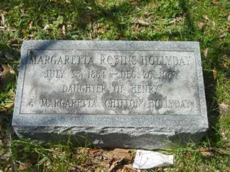 HOLLYDAY, MARGARETTA ROBINS - Talbot County, Maryland | MARGARETTA ROBINS HOLLYDAY - Maryland Gravestone Photos