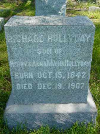 HOLLYDAY, RICHARD - Talbot County, Maryland | RICHARD HOLLYDAY - Maryland Gravestone Photos
