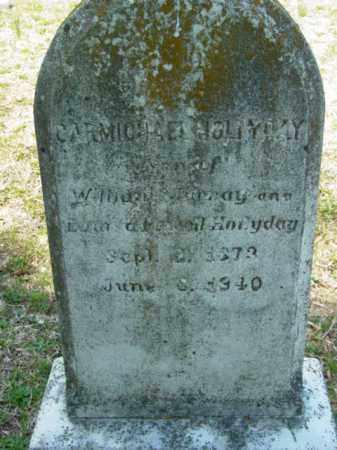 HOLLYDAY, RICHARD CARMICHAEL - Talbot County, Maryland   RICHARD CARMICHAEL HOLLYDAY - Maryland Gravestone Photos