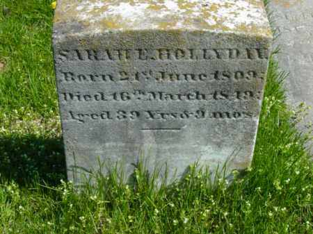 HOLLYDAY, SARAH E. - Talbot County, Maryland | SARAH E. HOLLYDAY - Maryland Gravestone Photos