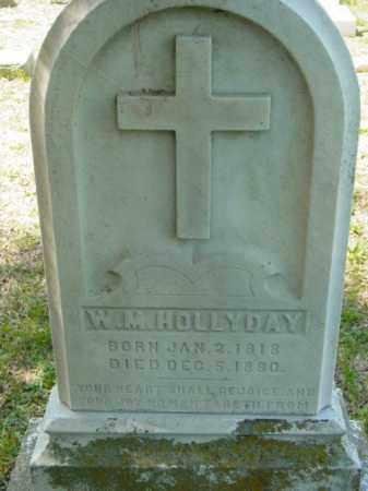 HOLLYDAY, W. M. - Talbot County, Maryland | W. M. HOLLYDAY - Maryland Gravestone Photos
