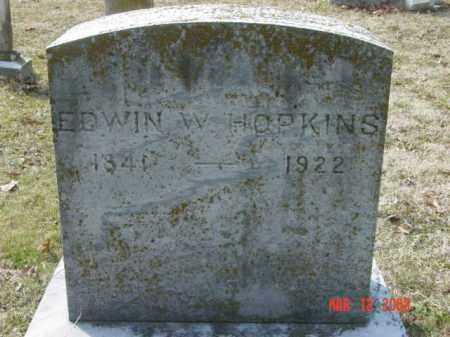 HOPKINS, EDWIN W. - Talbot County, Maryland | EDWIN W. HOPKINS - Maryland Gravestone Photos