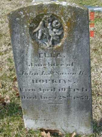 HOPKINS, ELLA - Talbot County, Maryland | ELLA HOPKINS - Maryland Gravestone Photos
