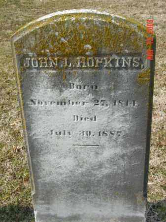 HOPKINS, JOHN L. - Talbot County, Maryland | JOHN L. HOPKINS - Maryland Gravestone Photos