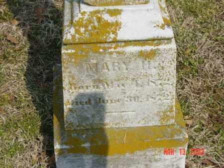 HOPKINS, MARY H. - Talbot County, Maryland | MARY H. HOPKINS - Maryland Gravestone Photos
