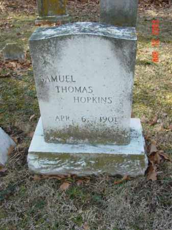 HOPKINS, SAMUEL THOMAS - Talbot County, Maryland | SAMUEL THOMAS HOPKINS - Maryland Gravestone Photos
