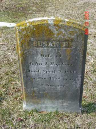 HOPKINS, SUSAN B. - Talbot County, Maryland | SUSAN B. HOPKINS - Maryland Gravestone Photos
