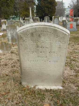 HOPKINS, SOLOMON S. - Talbot County, Maryland | SOLOMON S. HOPKINS - Maryland Gravestone Photos