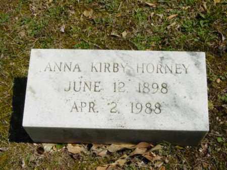 HORNEY, ANNA - Talbot County, Maryland | ANNA HORNEY - Maryland Gravestone Photos