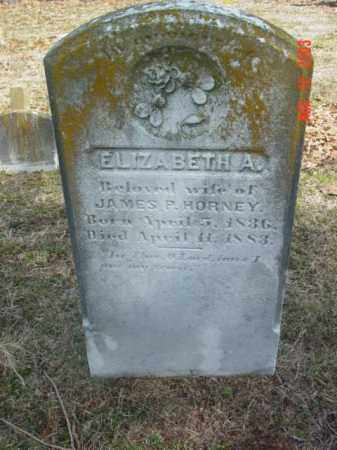 HORNEY, ELIZABETH A. - Talbot County, Maryland | ELIZABETH A. HORNEY - Maryland Gravestone Photos