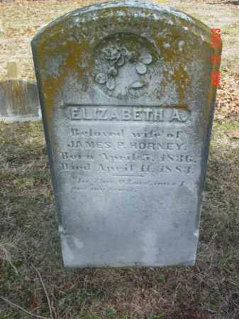 HORNEY, ELIZABETH A. - Talbot County, Maryland   ELIZABETH A. HORNEY - Maryland Gravestone Photos