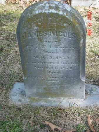 HORNEY, JAMES NICOLS - Talbot County, Maryland | JAMES NICOLS HORNEY - Maryland Gravestone Photos