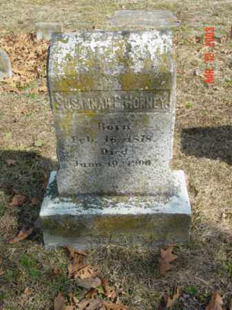 HORNEY, SUSANNAH C. - Talbot County, Maryland | SUSANNAH C. HORNEY - Maryland Gravestone Photos
