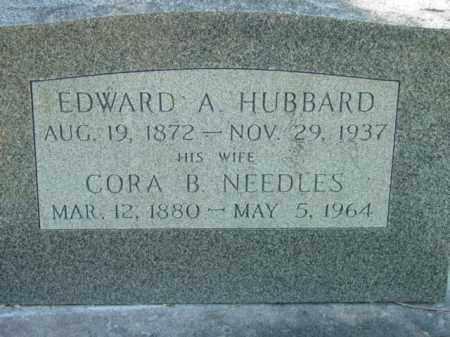 HUBBARD, EDWARD A. - Talbot County, Maryland | EDWARD A. HUBBARD - Maryland Gravestone Photos