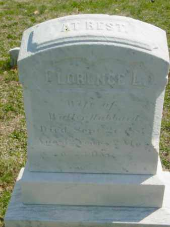 HUBBARD, FLORENCE L. - Talbot County, Maryland | FLORENCE L. HUBBARD - Maryland Gravestone Photos