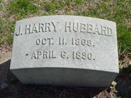 HUBBARD, J. HARRY - Talbot County, Maryland | J. HARRY HUBBARD - Maryland Gravestone Photos