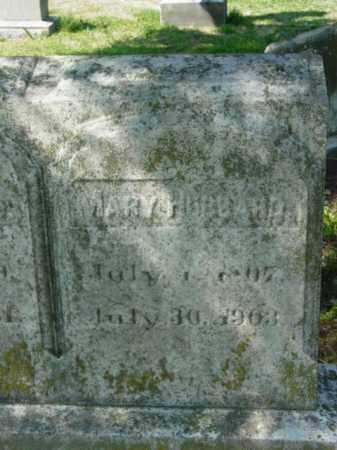 HUBBARD, MARY - Talbot County, Maryland | MARY HUBBARD - Maryland Gravestone Photos