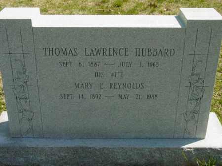 HUBBARD, THOMAS LAWRENCE - Talbot County, Maryland | THOMAS LAWRENCE HUBBARD - Maryland Gravestone Photos