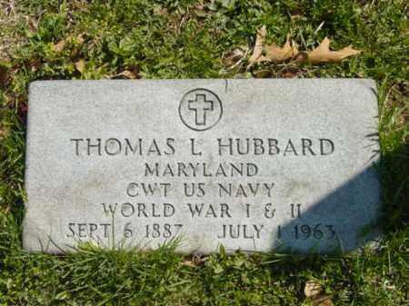 HUBBARD, THOMAS L. - Talbot County, Maryland | THOMAS L. HUBBARD - Maryland Gravestone Photos
