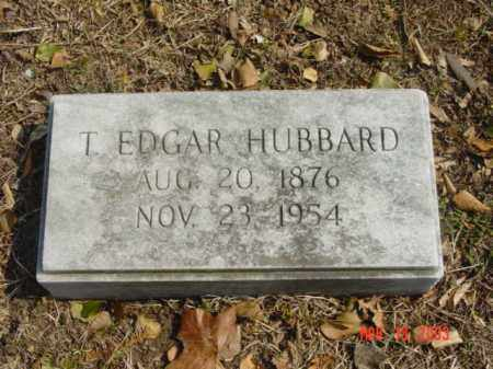 HUBBARD, T. EDGAR - Talbot County, Maryland | T. EDGAR HUBBARD - Maryland Gravestone Photos