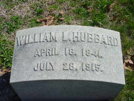 HUBBARD, WILLIAM L. - Talbot County, Maryland | WILLIAM L. HUBBARD - Maryland Gravestone Photos