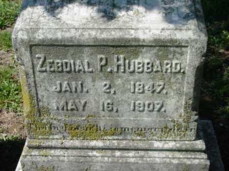 HUBBARD, ZEBDIAL P. - Talbot County, Maryland | ZEBDIAL P. HUBBARD - Maryland Gravestone Photos