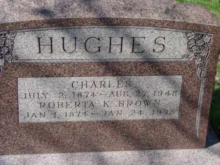 HUGHES, CHARLES - Talbot County, Maryland | CHARLES HUGHES - Maryland Gravestone Photos